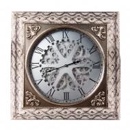 Часы настенные металлические 73х8,5х73 см