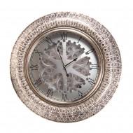 Часы настенные металлические 74х8,5х74 см