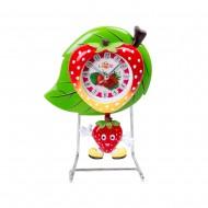 Часы на металлической подставке Клубничка