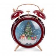 Новогоднее украшение Будильник 20 см
