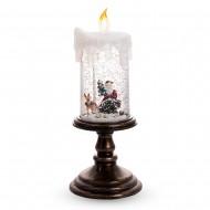 Новогоднее украшение Свеча Новогодняя 26 см