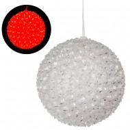 Интерьерное украшение Шар (150 ламп Свет красный)