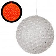 Интерьерное украшение Шар (300 ламп Свет красный)