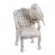 Статуэтка Птица на стуле 19х8 см