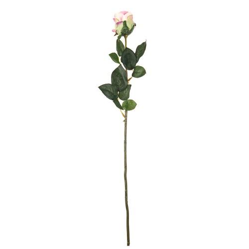 Искусственная Роза  светло розовая  67 см