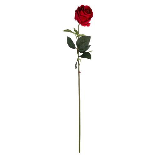 Искусственная Роза  красная 77 см