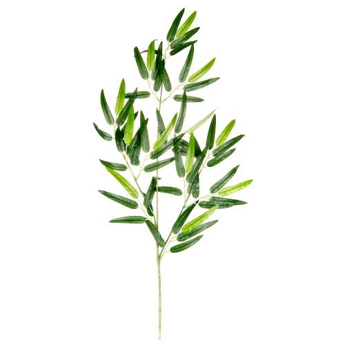 Ветка искусственная с листьями эфкалипта 70 см
