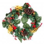 Новогоднее украшение Венок рождественский 40 см