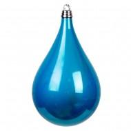 Новогоднее украшение Шар в форме Голубой Капли  50 см