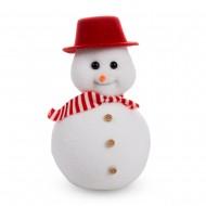 Новогоднее украшение Снеговик 10х16 см