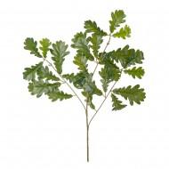 Искусственная ветка с листьями Дуба  60 см
