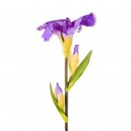 Цветы искусственные сиреневые Ирисы 70 см