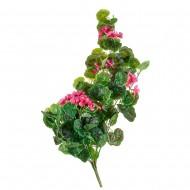 Цветок искусственный Герань ампельная розовая  80 см