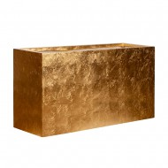 Ваза напольная Короб золото 120х38х60 см