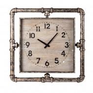Часы настенные металлические квадратные  60х4,5х60 см
