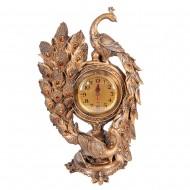 Часы статуэтка Павлин 45х28 см