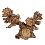 Часы статуэтка Птицы на ветке 24х30 см