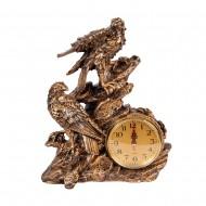 Часы статуэтка Птицы на камне 33х25 см