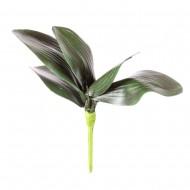 Цветы искусственные Листья Орхидеи 32 см