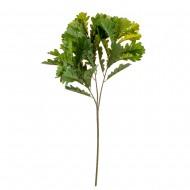 Искусственная ветка с листьями Дуба 68 см