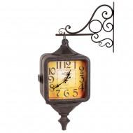 Часы на кронштейне двусторонние 43х11х31 см