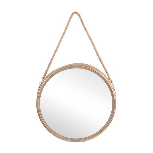 Зеркало подвесное круглое 45х6х70 см