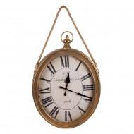 Часы подвесные овальные 59х6х42 см