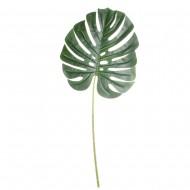 Цветы искусственные Листья Монстеры 68 см