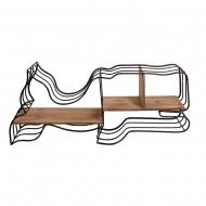Полка подвесная Кит 110х17х50 см