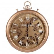 Часы настенные с двигающимися шестеренками 53х7,5х62 см