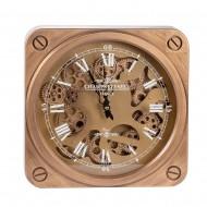 Часы настенные с двигающимися шестеренками 37х6,5х37 см