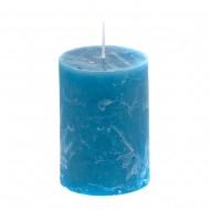 Свеча ароматизированная синия 7х10 см