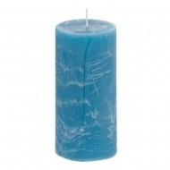 Свеча ароматизированная синия 7х15 см