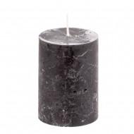 Свеча ароматизированная черная 7х10 см
