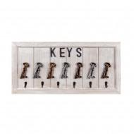 Вешалка для ключей 59х28 см