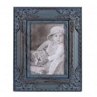 Рамка для фотографий голубая 23х27,5 см