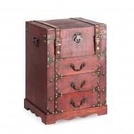 Сундук с ящиками для хранения (настольный) 32х29х47 см