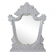 Зеркало настенное белое 85х115 см
