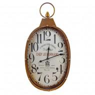 Часы настенные металлические 36х5,5х69 см