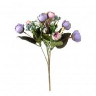 Букет искусственных цветов Розы 26 см