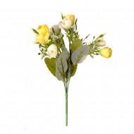 Букет искусственных цветов 30 см