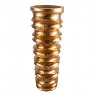 Ваза напольная золото 43х43х121 см