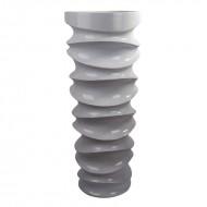 Ваза напольная золото 37х37х90 см