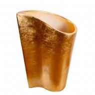 Ваза напольная золото 52х30х71 см