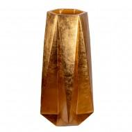 Ваза напольная золото 54х54х101 см