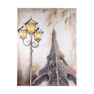 Панно настенное Париж 90х120 см