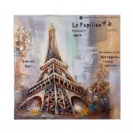 Панно настенное Париж 100х100 см
