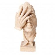 Статуэтка рука на лице 23 см