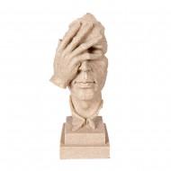 Статуэтка рука на лице 30 см