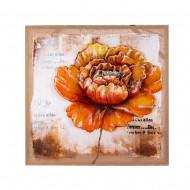 Панно настенное Цветок 80х80 см